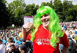Miha Dezelak during 5km and 10km running race 9. DM Tek za zenske on May 31, 2014 in Tivoli, Ljubljana, Slovenia. Photo by Vid Ponikvar / Sportida