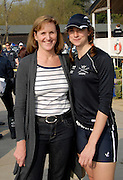 Henley, GREAT BRITAIN, 2011 Henley Boat Races, Temple Island, Henley Reach, River Thames, England. Lady Ann REDGRAVE [left], with daughter, Natalie REDGRAVE [right].   Sunday  27/03/2011.  [Mandatory Credit, Karon Phillips /Intersport-images]