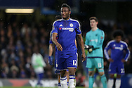 Mikel John Obi of Chelsea looks on. Barclays Premier league match, Chelsea v Manchester Utd at Stamford Bridge in London on Sunday 7th February 2016.<br /> pic by John Patrick Fletcher, Andrew Orchard sports photography.