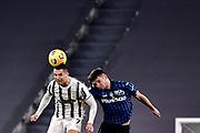 Foto Marco Alpozzi/LaPresse <br /> 16 Dicembre 2020 Torino, Italia <br /> sport calcio <br /> Juventus Vs Atalanta - Campionato di calcio Serie A TIM 2020/2021 - Allianz Stadium<br /> Nella foto:    Cristiano Ronaldo (Juventus F.C.);Berat Djimsiti (Atalanta B.C.); <br /> <br /> <br /> Photo Marco Alpozzi/LaPresse <br /> December 16, 2020 Turin, Italy <br /> sport soccer <br /> Juventus Vs Atalanta - Italian Football Championship League A TIM 2020/2021 - Allianz Stadium<br /> In the pic:      Cristiano Ronaldo (Juventus F.C.);Berat Djimsiti (Atalanta B.C.);
