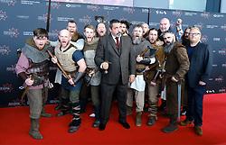 Edinburgh International Film Festival 2019<br /> <br /> Robert The Bruce (World Premiere) <br /> <br /> Pictured: Angus Macfadyen with actors from the film<br /> <br /> Alex Todd | Edinburgh Elite media