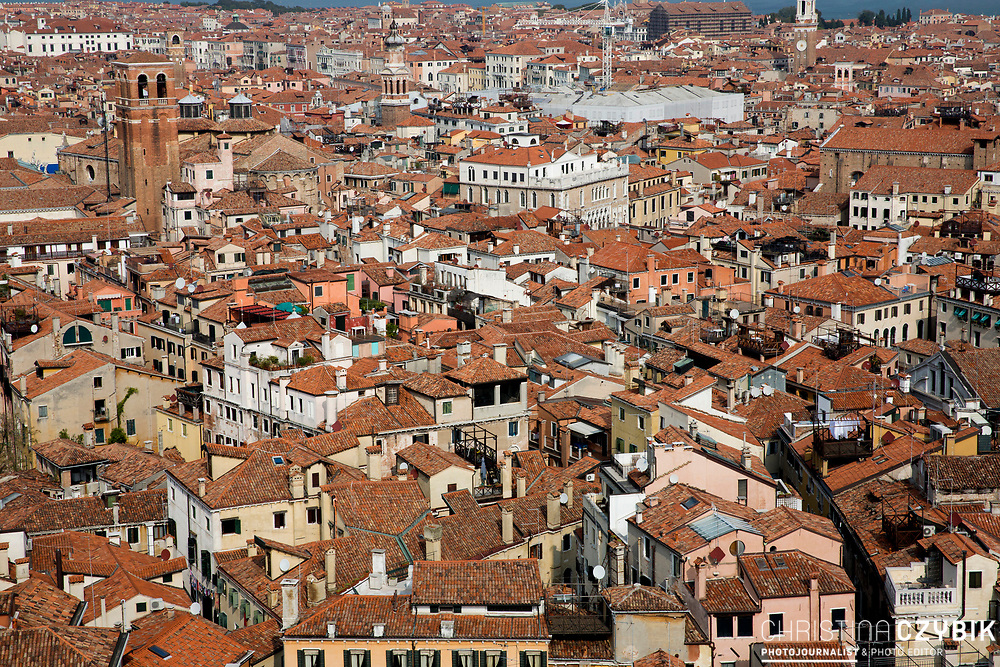Areal Views Venice<br /> Venice, Italy on September 28, 2014