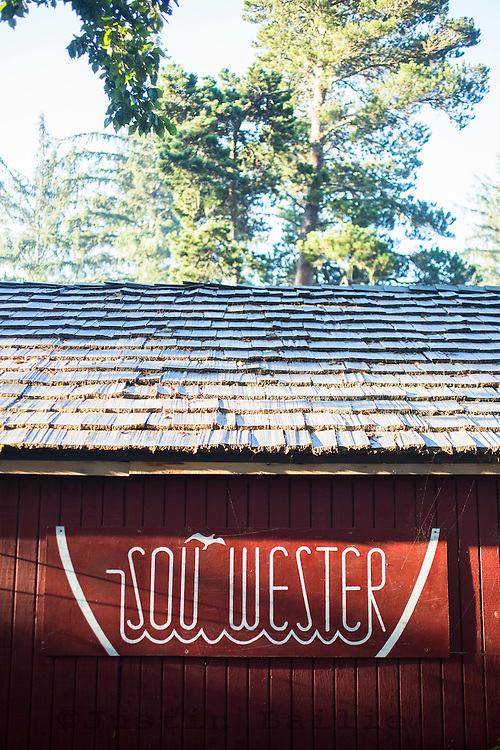 Sou'wester lodge in southwest Washington on the Longbeach Peninsula. The Sou'wester is a bohemian resort with the main house being built in 1892 and has a collection of vintage trailers and cottages that guests stay in.
