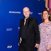 NLD/Amsterdam/20190322  - Boekenbal 2019, Frans van Deursen en partner