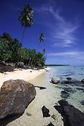 Amuri Beach, Aitutaki, Cook Islands<br />