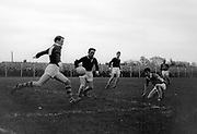 An action shot from a GAA game in the 1950's..Picture by Donal MacMonagle.macmonagle archive photo