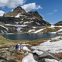 CH, summer in the Valais alps