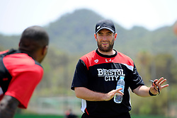 Bristol City head coach, Lee Johnson  - Mandatory by-line: Joe Meredith/JMP - 19/07/2016 - FOOTBALL - Bristol City pre-season training camp, La Manga, Murcia, Spain