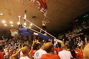 DESCRIZIONE : Reggio Emilia Lega A 2014-15 Grissin Bon Reggio Emilia Banco di Sardegna Sassari finale play off gara 5<br /> GIOCATORE : tifosi Grissin Bon Reggio Emilia bandiera<br /> CATEGORIA : tifosi<br /> SQUADRA : Grissin Bon Reggio Emilia<br /> EVENTO : Campionato Lega A 2014-2015<br /> GARA : Grissin Bon Reggio Emilia Banco di Sardegna Sassari<br /> DATA : 22/06/2015<br /> SPORT : Pallacanestro <br /> AUTORE : Agenzia Ciamillo-Castoria/E.Rossi<br /> Galleria : Lega Basket A 2014-2015 <br /> Fotonotizia : Reggio Emilia Lega A 2014-15 Grissin Bon Reggio Emilia Banco di Sardegna Sassari finale play off gara 5