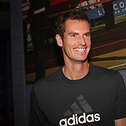 Defending US Open Champions Andy Murray at the 2013 US Open draw ceremony. Flushing. New York, USA. 22nd August 2013. Photo Tim Clayton