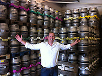 Here's James Morgan <br /> <br /> These barrels have been brewed by Nettergate but are being distributed from Stour Road.<br /> The step from brewing under licence (which attracts excise of 35p in the Pound) to brewing your own with excise of 17.5 in the Pound is a crucial and lucrative step)