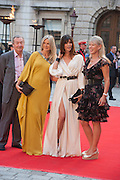 NICK MASON; AMANDA WAKELEY; LISA B; NETTIE MASON, Celebration of the Arts. Royal Academy. Piccadilly. London. 23 May 2012.