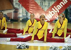 Sovice, Slovenia at European Cheerleading Championship 2008, on July 5, 2008, in Arena Tivoli, Ljubljana, Slovenia. (Photo by Vid Ponikvar / Sportal Images).