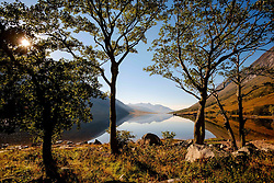 Loch Etive in autumn at the end of Glen Etive, Highlands of Scotland<br /> <br /> (c) Andrew Wilson   Edinburgh Elite media