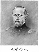 Don Carlos Buell (1818-1898) Unionist (northern) general in American Civil War 1861-1865