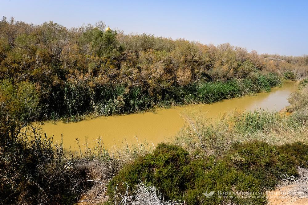 Jordan. Bethany is the settlement and region where John the Baptist lived and baptized. The Jordan River.