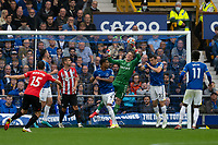 Football - 2021 / 2022 Premier League - Everton vs Southampton - Goodison Park - Saturday 14th August 2021.<br /> <br /> Everton's Jordan Pickford saves a shot at goal<br /> <br /> <br /> <br /> Credit COLORSPORT/Terry Donnelly