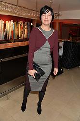 SHARLEEN SPITERI at the Costa Book Awards 2013 held at Quaglino's, 16 Bury Street, London on 28th January 2014.