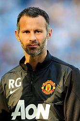 Manchester United's Ryan Giggs - Photo mandatory by-line: Dougie Allward/JMP - Tel: Mobile: 07966 386802 22/09/2013 - SPORT - FOOTBALL - City of Manchester Stadium - Manchester - Manchester City V Manchester United - Barclays Premier League