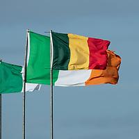 New O'Curry's - Naomh Eoin Flag flies over Kilkee