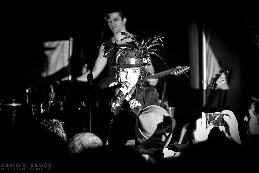 IAMX live ANIMAL IMPULSES TOUR 2013 DALLAS, TX