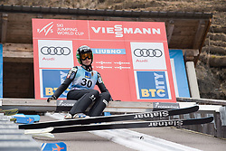 February 8, 2019 - Ljubno, Savinjska, Slovenia - Ursa Bogataj of Slovenia on first competition day of the FIS Ski Jumping World Cup Ladies Ljubno on February 8, 2019 in Ljubno, Slovenia. (Credit Image: © Rok Rakun/Pacific Press via ZUMA Wire)