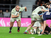 Rugby Union - 2017 Varsity Match - Oxford University vs. Cambridge University<br /> <br /> William Briggs of Cambridge playing in his seventh Varsity, at Twickenham.<br /> <br /> COLORSPORT/ANDREW COWIE