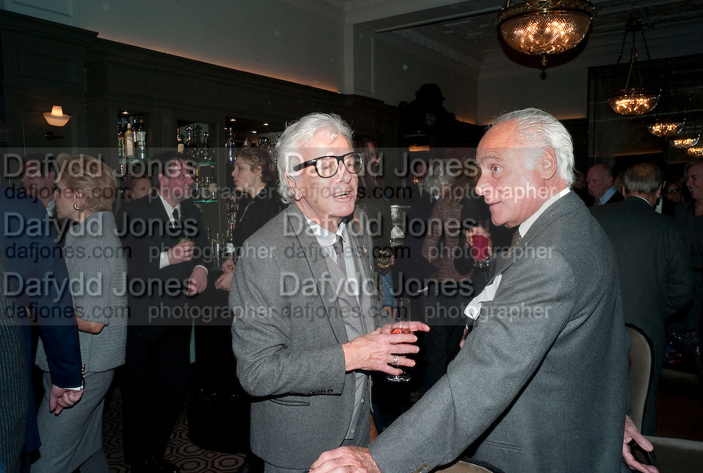 NICKY HASLAM; JOHN STEFANIDES, Graydon and Anna Carter host a lunch for Carolina Herrera to celebrate the ipening of her new shop on Mount St. .The Connaught. London. 20 January 2010