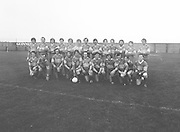 The Garda team before the Guinness v Garda Gaelic Football Club Tournament Final on the 14th October 1979.