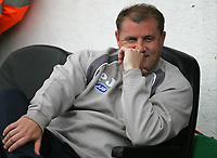 Photo: Lee Earle.<br /> Portsmouth v Wigan Athletic. The Barclays Premiership. 09/09/2006. Wigan manager Paul Jewell.