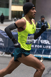 NYRR New York City Half Marathon road race: Jose Luis Barrios, Mexico, Nike