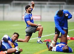 Cape Town-180419 Stomers  Damien de Allende at training before their Super Rugby game against the  Sharks in Durban this coming weekend..photograph:Phando Jikelo/African News Agency/ANA