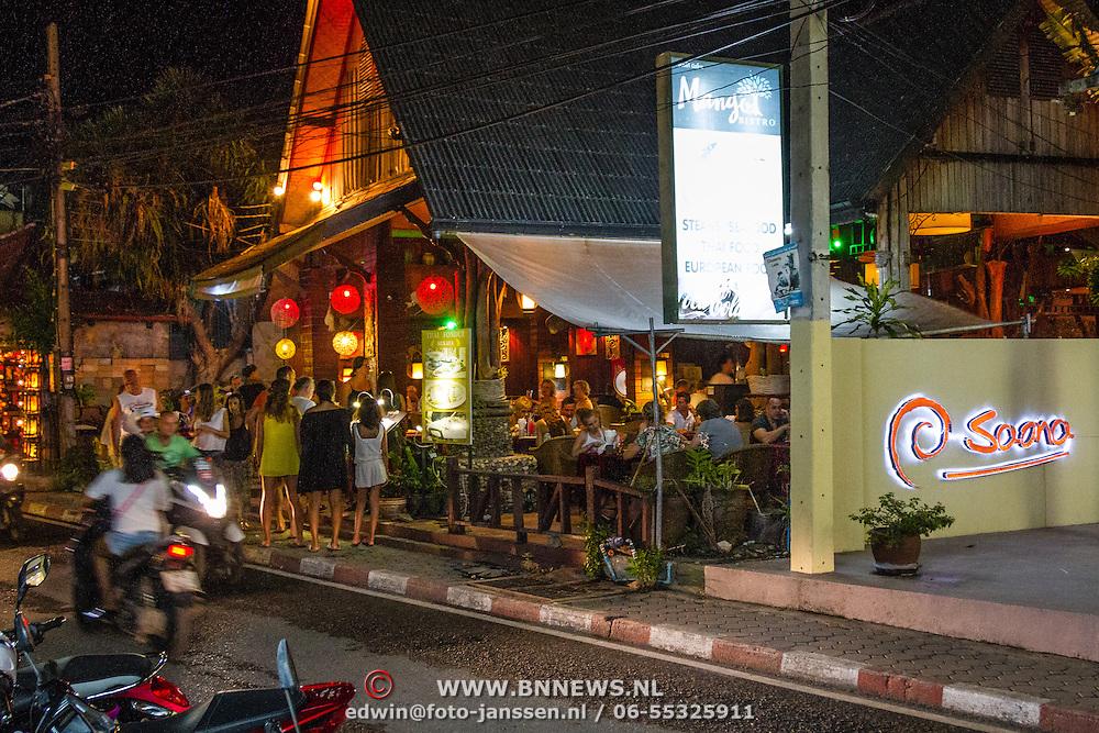 THA/Koh Samui/20160804 - Vakantie Thailand 2016 Koh Samui, restaurant Lamai  Beach