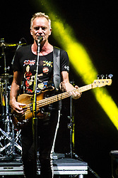 July 29, 2018 - Verona, Verona, Italy - Sting performs with Shaggy at Arena of Verona in Italy, on July 29, 2018. (Credit Image: © Roberto Finizio/NurPhoto via ZUMA Press)
