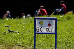 Fans at mountain finish Trescak at 2nd stage of Tour de Slovenie 2009 from Kamnik to Ljubljana, 146 km, on June 19 2009, Slovenia. (Photo by Vid Ponikvar / Sportida)