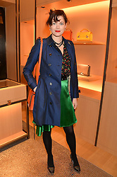 JASMINE GUINNESS at the opening party for Moynat's new Maison de Vente in Mayfair at 112 Mount Street, London W1 on 12th March 2014.
