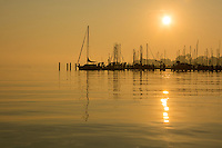Sunrise over the Magothy River near the Chesapeake Bay.