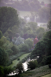 UK ENGLAND WILTSHIRE 26JUN08 - View of the Valley of Stichcoombe with the river Kennet flowing through in rural Wiltshire, western England...jre/Photo by Jiri Rezac..© Jiri Rezac 2008..Contact: +44 (0) 7050 110 417.Mobile:  +44 (0) 7801 337 683.Office:  +44 (0) 20 8968 9635..Email:   jiri@jirirezac.com.Web:     www.jirirezac.com..© All images Jiri Rezac 2008 - All rights reserved.