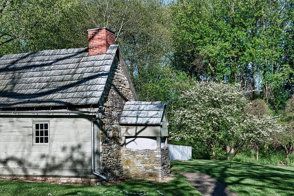 Physician's House, Ephrata Cloister, Pennsylvania, USA
