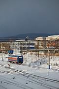 Railwayline, Severobaikal. Siberia, Russia