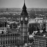 Big Ben clock tower, London, England