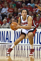 1 April 2010: Ashleen Bracey. The Redbirds of Illinois State are dropped by the Golden Bears of California 61-45 in the semi-final round of the 2010 Women's National Invitational Tournament (WNIT) on Doug Collins Court inside Redbird Arena at Normal Illinois.