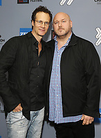 """Randall Batinkoff (L) and Will Sasso at DTLA Film Festival """"INSIDE GAME"""" Los Angeles Premiere held at Regal LA Live on October 24, 2019 in Los Angeles, California, United States (Photo by © Michael Tran/VipEventPhotography.com"""