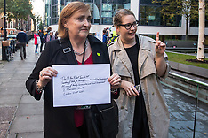 2019-10-17 Grenfell MP and residents deliver insulation and cladding letter to MHCLG