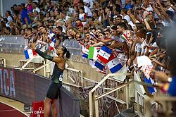 July 20, 2018 - Monaco, France - 110 metres haies hommes - Pascal Martinot Lagarde  (Credit Image: © Panoramic via ZUMA Press)