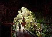 Thurston Lava Tube, Hawaii Volcanoes National Park, Island of Hawaii<br />