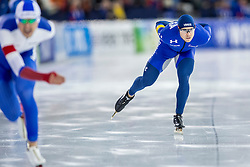 10-12-2016 NED: ISU World Cup Speed Skating, Heerenveen<br /> 1500 m men / Joey Mantia USA
