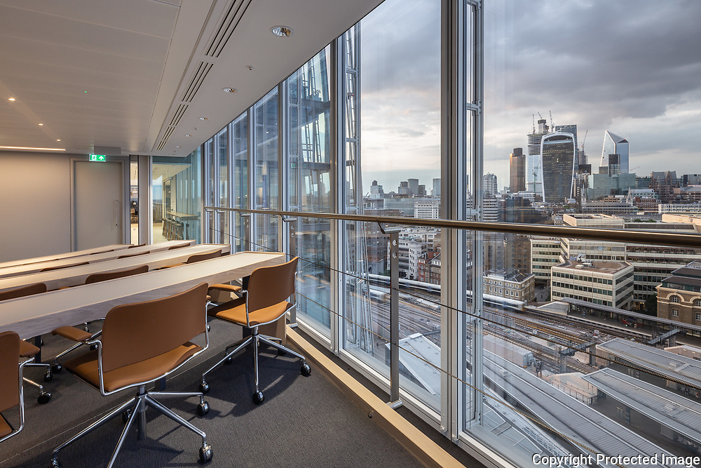 Warwick Business School in the Shard 13th Floor, London by DuCroz Architects, 2018