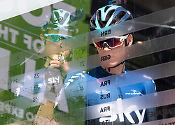 22.04.2019, Kufstein, AUT, Tour of the Alps, 1. Etappe, Kufstein - Kufstein, 144km, im Bild // Christopher Froome (GBR, Team Sky) during the 1st Stage of the Tour of the Alps Cyling Race from Kufstein to Kufstein (144km) in in Kufstein, Austria on 2019/04/22. EXPA Pictures © 2019, PhotoCredit: EXPA/ Reinhard Eisenbauer