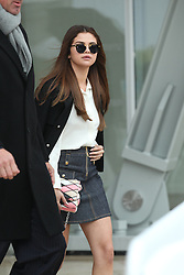 Selena Gomez arrives at the Louis Vuitton show as part of the Paris Fashion Week Womenswear Fall, Winter 2016, 2017 on March 9, 2016 in Paris, France. EXPA Pictures © 2016, PhotoCredit: EXPA/ Photoshot/ Zenon Stefaniak<br /> <br /> *****ATTENTION - for AUT, SLO, CRO, SRB, BIH, MAZ, SUI only*****